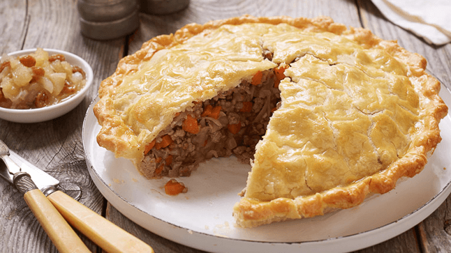 Tourtiere - Canadian Food
