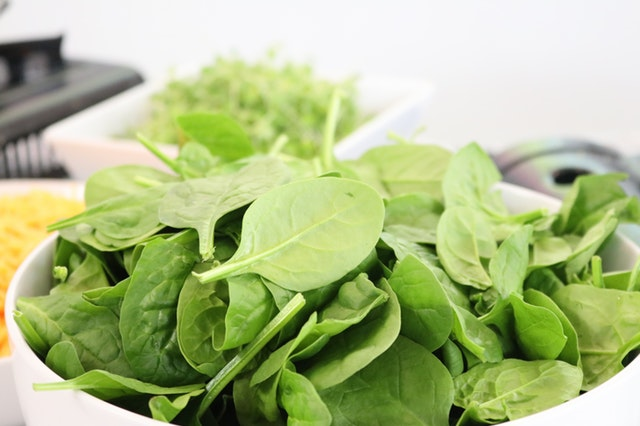 Spinach easy grow vegetable