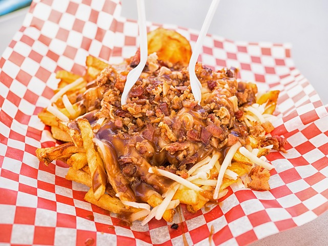 Putine Dish, a combination of Crispy Fries,Squeaky Cheese curds and rich gravy