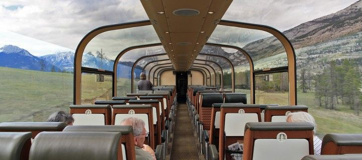 Glass-domed Scenic Train