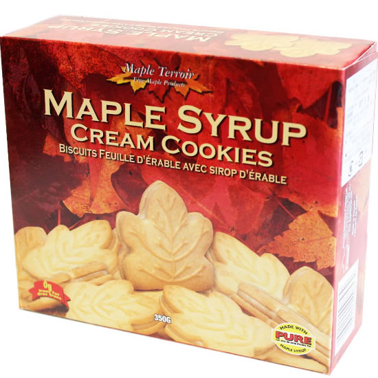 DARE MAPLE LEAF COOKIES - Healthy Snack