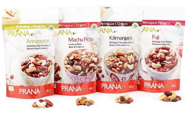 PRANA NUTS & FRUIT MIX - Healthy Snack