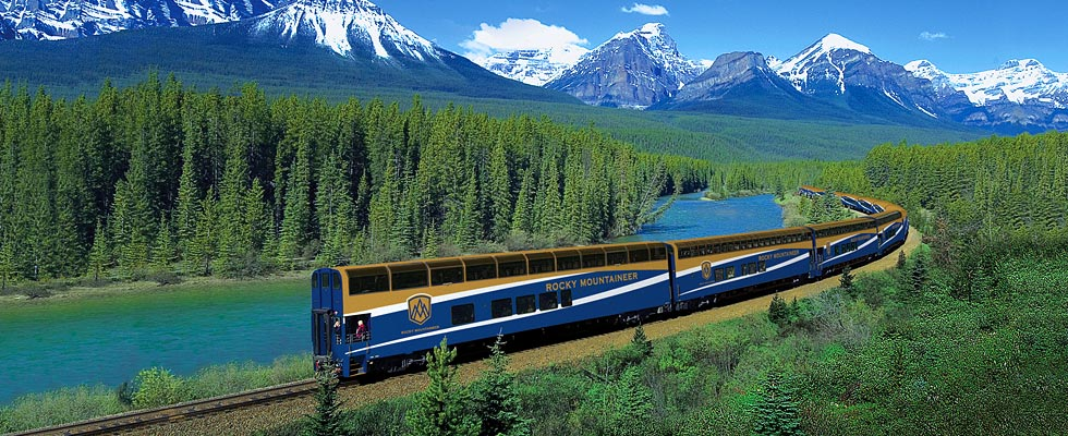 Rocky Mountaineer Glass-domed Scenic Train
