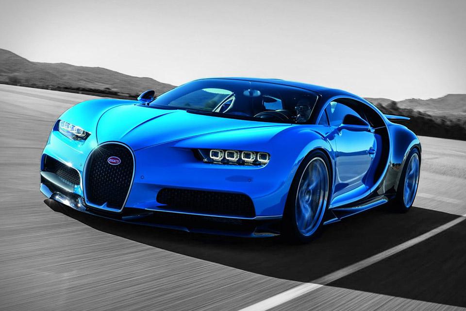 Bugatti Chiron - 3rd Fastest Car
