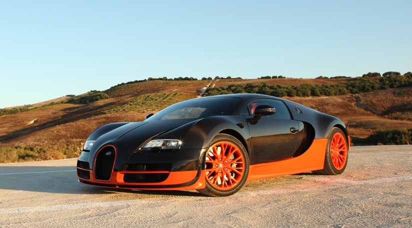 Bugatti Veyron Super Sports  - 5th Fastest Car