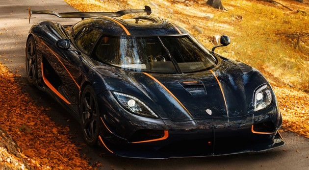 Koenigsegg Agera RS - 2nd Fastest Car