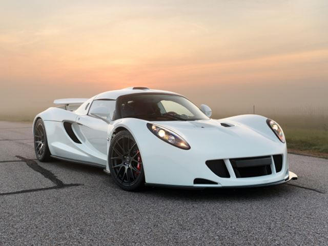 Hennessey Venom GT - 4th Fastest Car