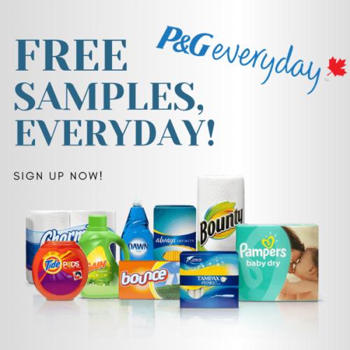 P&g Free Sample Everyday